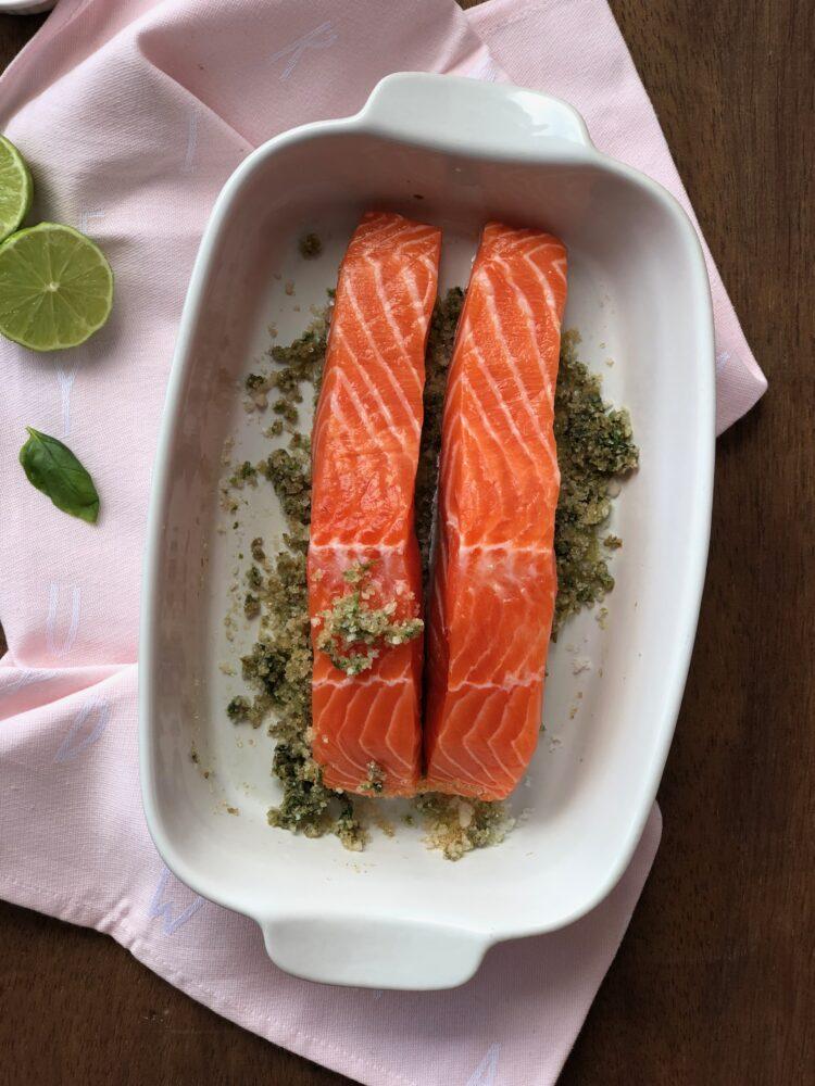 How to make homemade marinated salmon