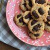 Grain free almond chocolate chip cookies