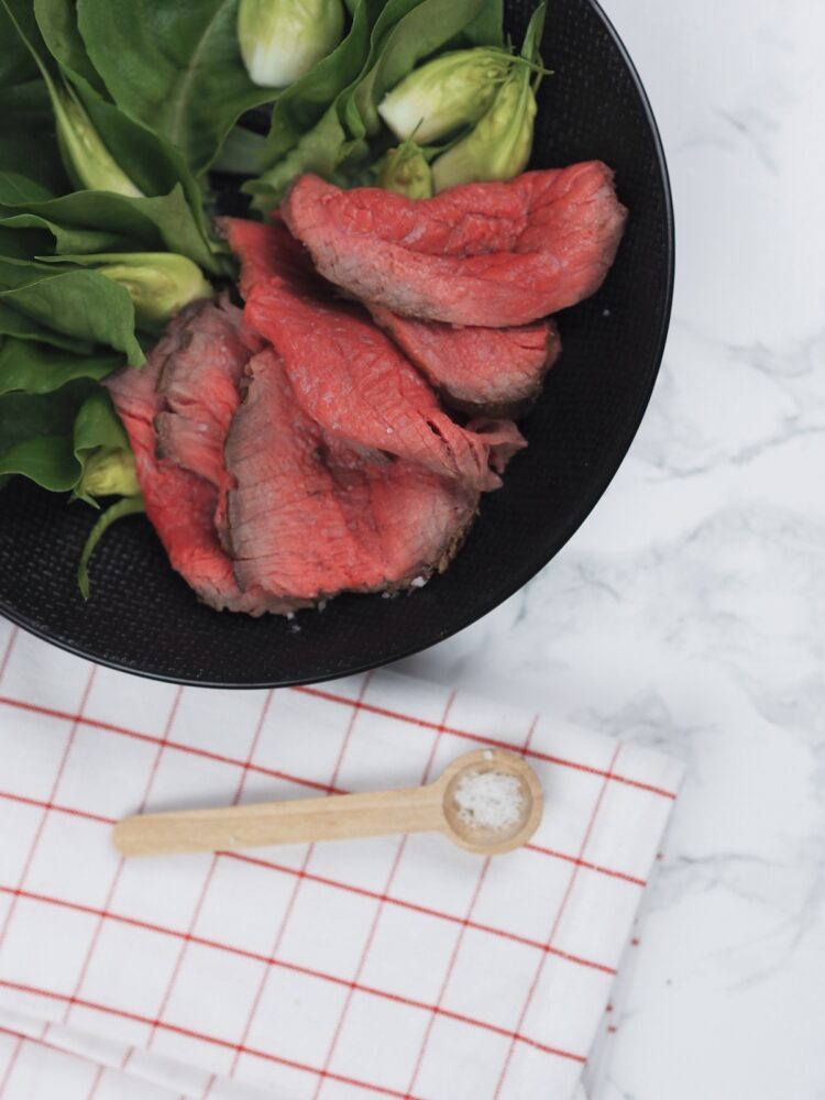 Easy and quick roast beef