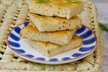 Naturally gluten free focaccia