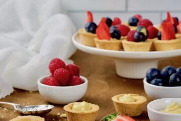 Gluten free fruit tarts