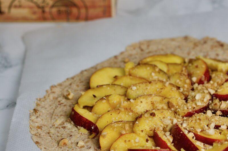 Grain free peaches galette