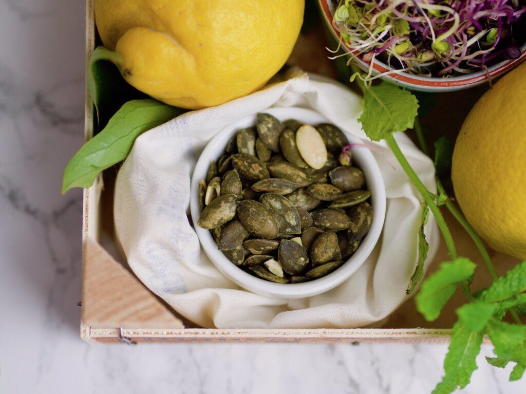 Raw melon savory carpaccio ingredients