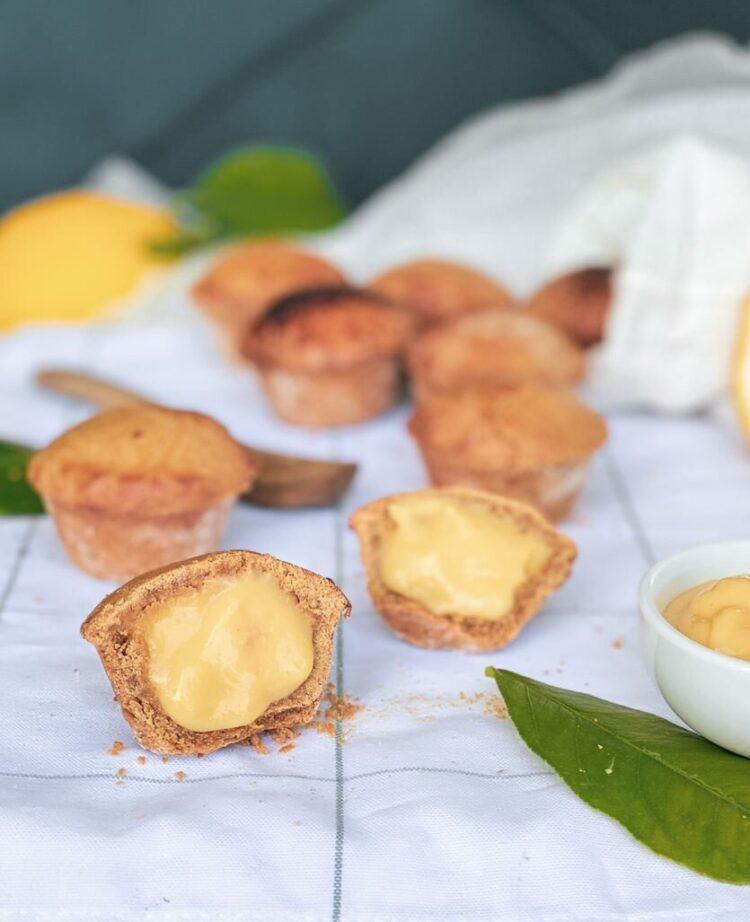 Italian cream pastries - pasticciotti gluten free
