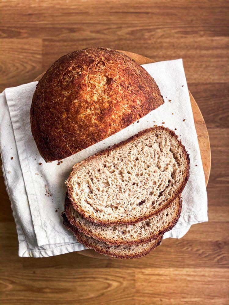 NATURALLY GLUTEN FREE VEGAN BREAD