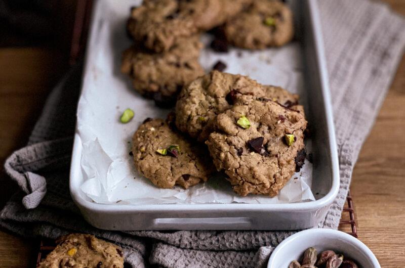 Gluten-free chocolate chip cookies (crunchy!)