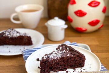 gluten free Chocolate mayonnaise cake