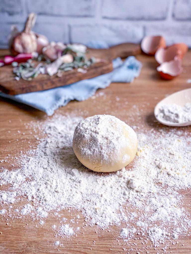 Gluten free fresh pasta dough