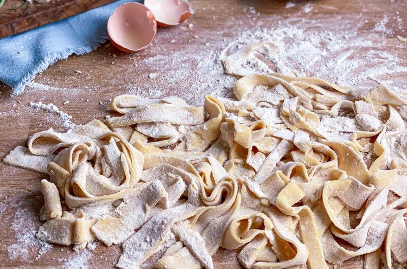 3 ingredients gluten-free fresh pasta