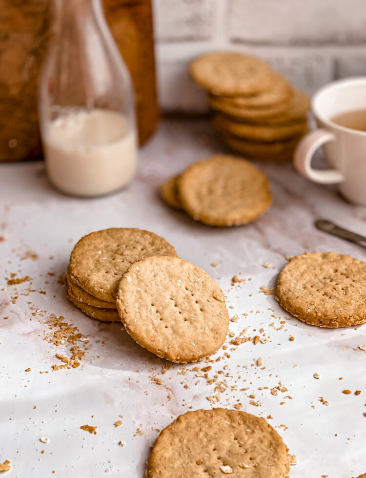Gluten free digestive biscuits