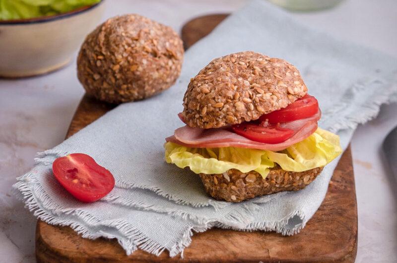 Quick gluten free buns