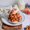 Pumpkin gluten-free waffles