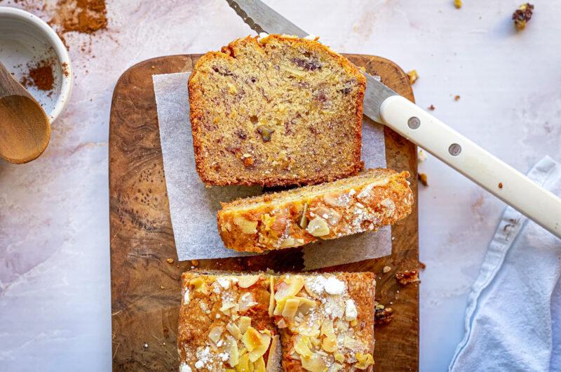 Cinnamon gluten-free banana bread