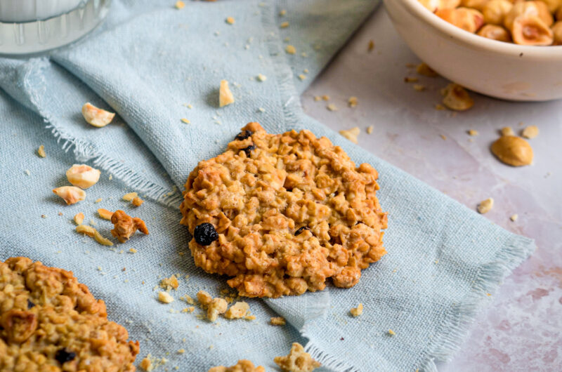 Dairy-free and Gluten-free Oat granola cookies